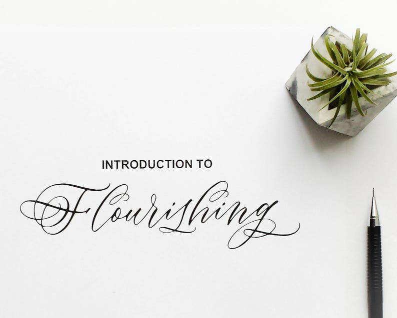 Introduction to Flourishing  Printable Guide image 0