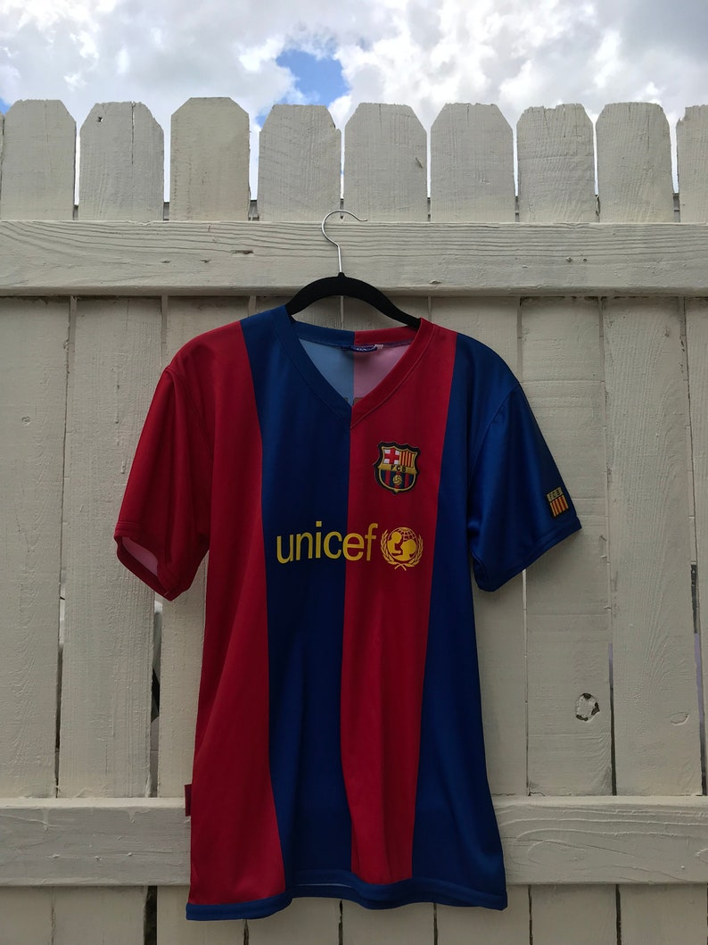 premium selection b043c 3ed64 Unicef Messi No. 19 Soccer Jersey