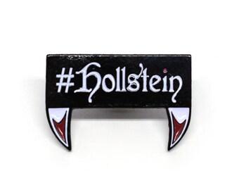 Ship It Hollstein Fangs Enamel Pin