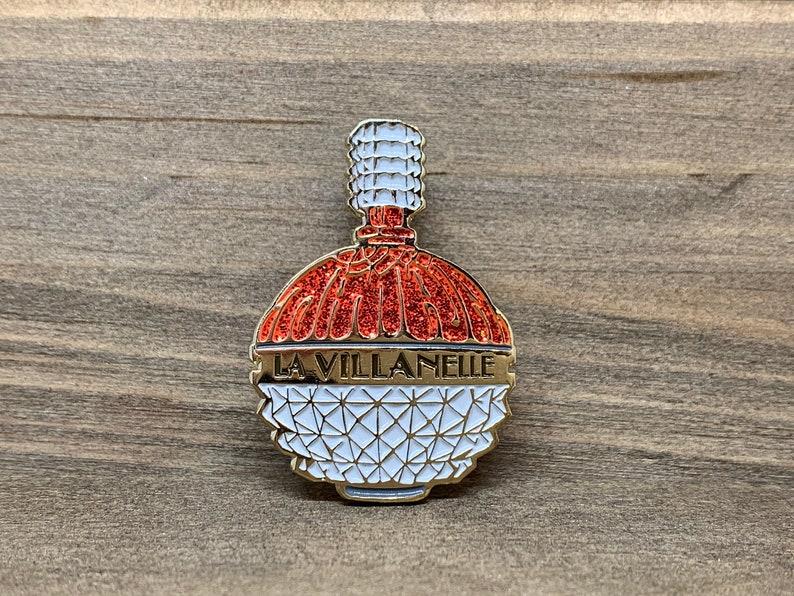 Killing Eve La Villanelle Perfume Enamel Pin (Choose Color)
