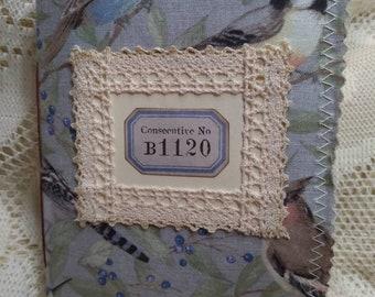 Consecutive No. B1120 ~Junk Journal