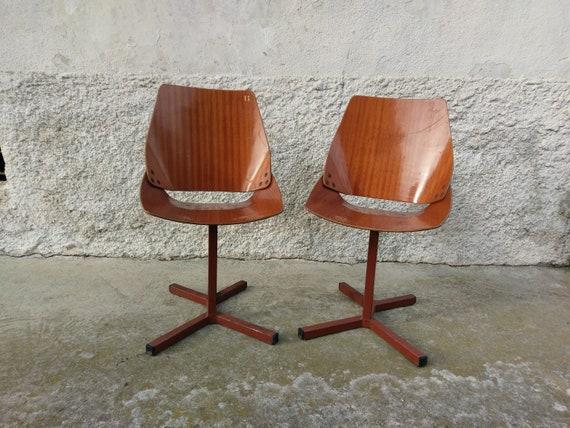 Kino Stühle 2 Vintage Lupina 2 Niko 60erVintage Stühle Stühlepaar 2 Design von StühleJugoslawien Kralj Haargesteck TcFl1KJ