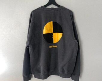 e1c3a0ec ASAP Rocky Testing Vinatge Crewneck Sweater