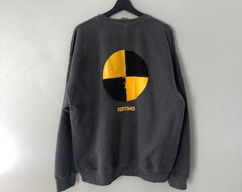 ASAP Rocky Testing Vinatge Crewneck Sweater 1b567b2050a