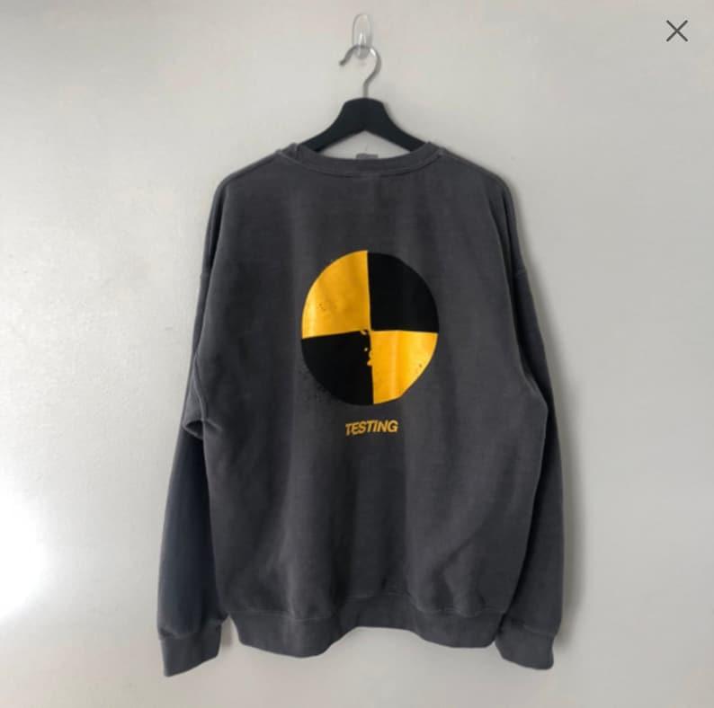 ASAP Rocky Testing Vinatge Crewneck Sweater