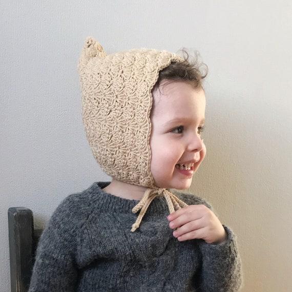Baby bonnet Pixie bonnet Pixie baby hat Toddler pixie  13742d334d1