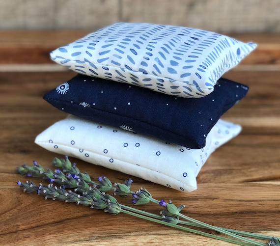 Navy Blue Decor Bedroom Accessories Modern Lavender Etsy
