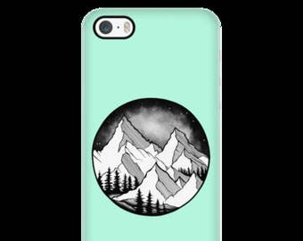 Mountain Cell Phone Case Iphone5-7s, Galaxy s4-s7