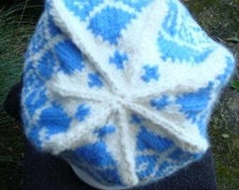 Hand Knitted Fair Isle Hat
