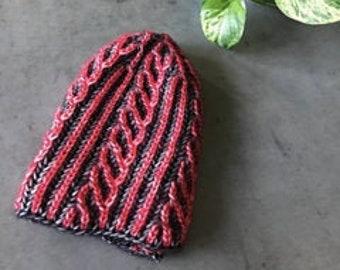 K2EA Hat Knitting Pattern