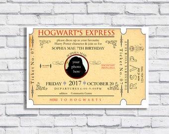 Harry Potter Themed Invitation