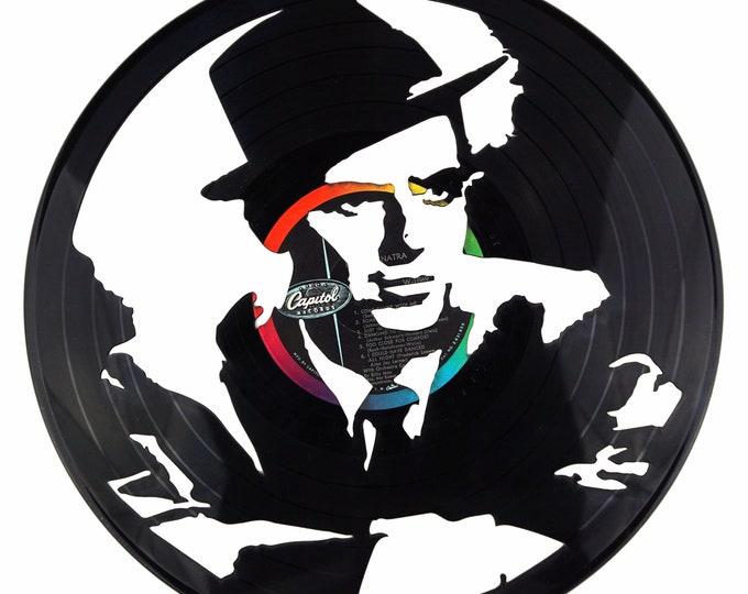Frank Sinatra Vinyl Record Art