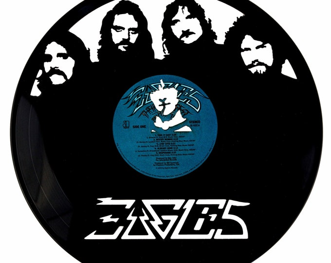 Eagles Vinyl Record Art