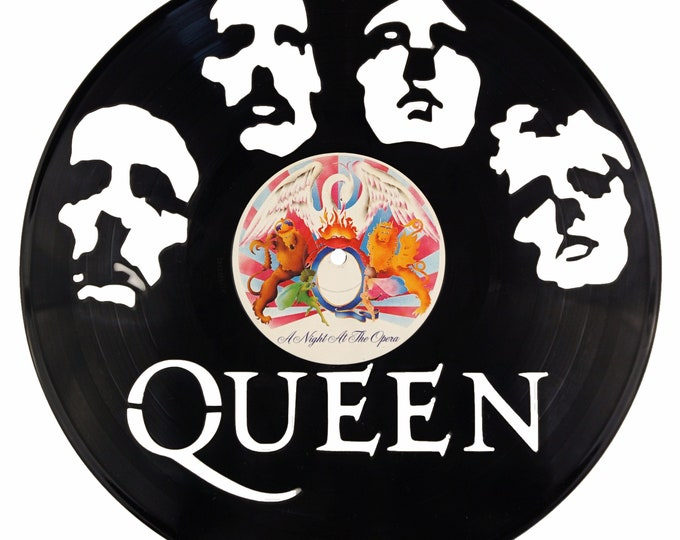 Queen Vinyl Record Art