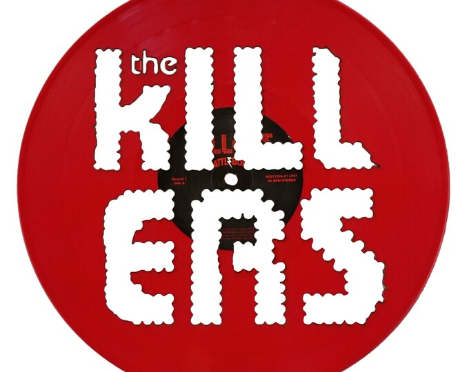 The Killers Vinyl Record Art
