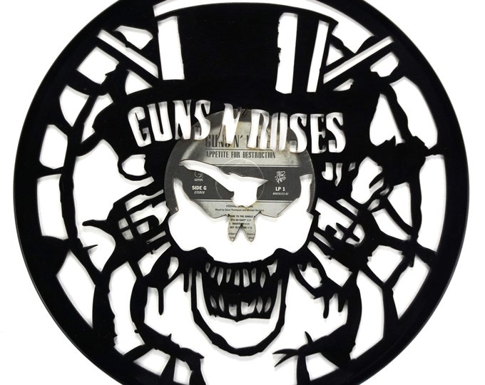 Guns N' Roses Appetite For Destruction Vinyl Record Art