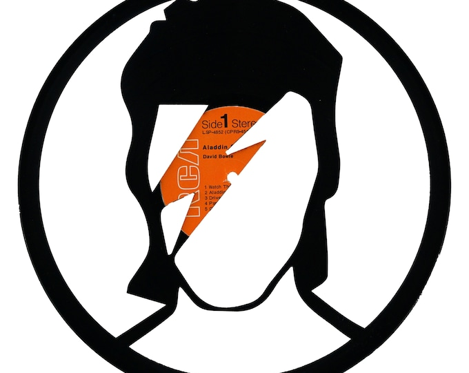David Bowie Vinyl Record Art