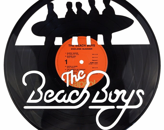 The Beach Boys Vinyl Record Art