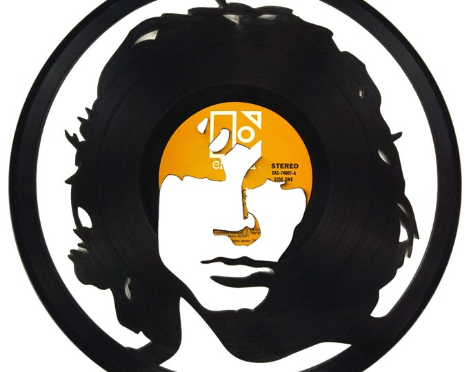 Jim Morrison Vinyl Record Art