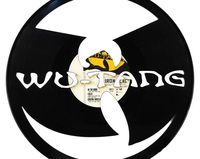 Wu-Tang Vinyl Record Art