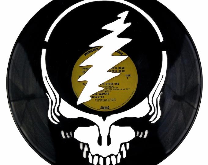 Grateful Dead Vinyl Record Art