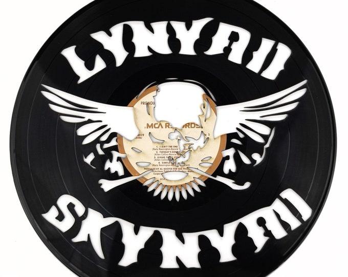 Lynyrd Skynyrd Vinyl Record Art