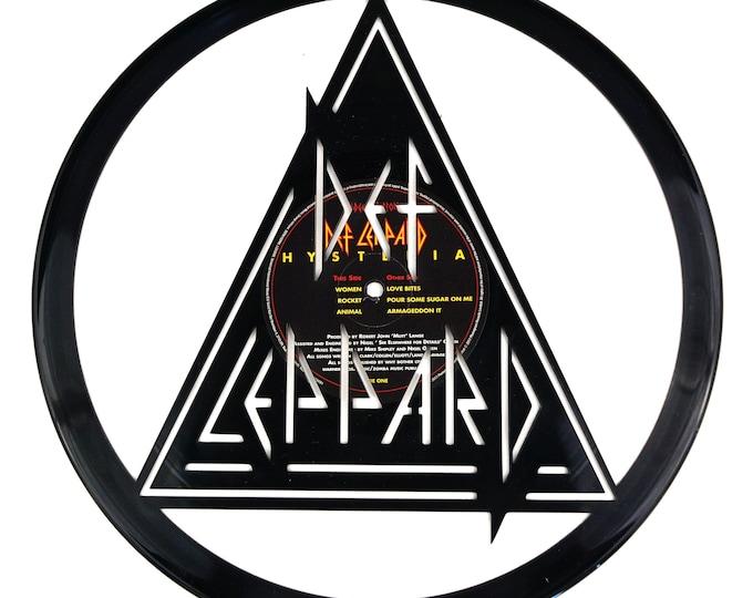 Def Leppard Vinyl Record Art
