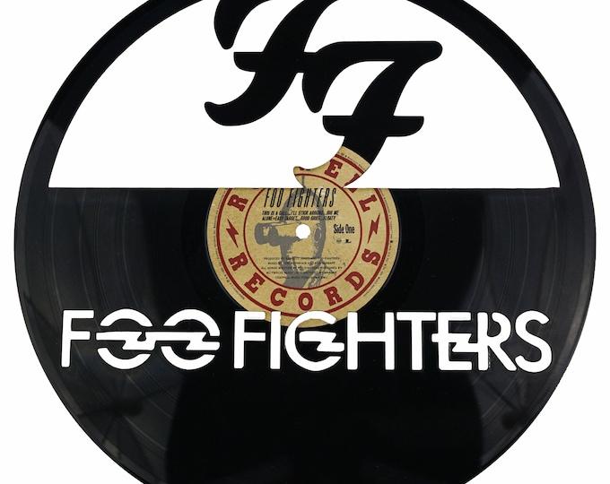 Foo Fighters Vinyl Record Art