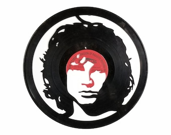 Jim Morrison The Doors Vinyl Record Art