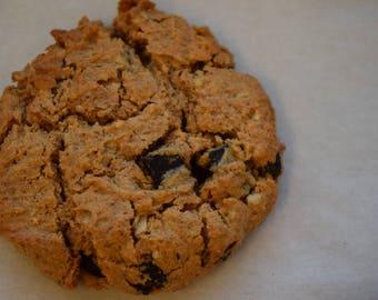 Vegan, Gluten-free, Chocolate Chip Cookies (12)