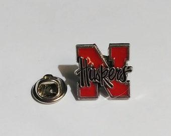 State of Nebraska NE Flag Bike Motorcycle Hat Cap lapel Pin