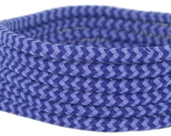 380565923 140 cm Long, 5 mm Round Lilac & Purple Boot Laces 2 pair pack