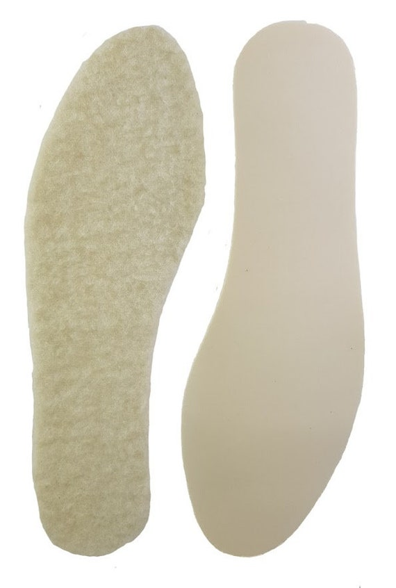 SIZE 10//11 Eur 44//45 LEATHER FULL LENGTH SHOE /& BOOT INSOLES