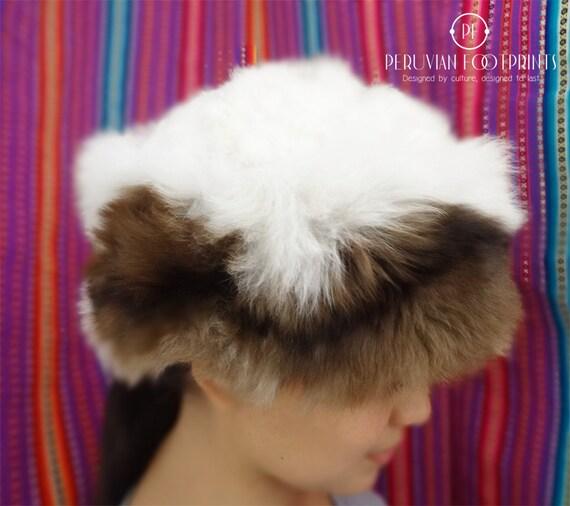 fd1cd9708d2 Hiver chaud Bonnet en fourrure 100 % bébé alpaga ces chapeaux