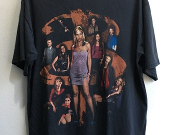 c009b37a5 2000 Buffy The Vampire Slayer Vintage Movie Tshirt