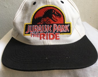 34c5edefe1016 1997 Jurassic Park Vintage Embroidery Movie Cap