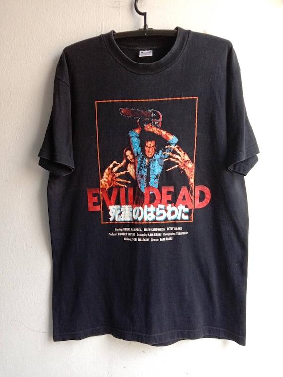 1990s Evil Dead Vintage Horror Movie Tshirt