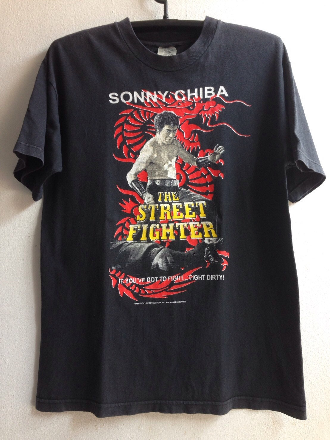 1997 1997 1997 le Tshirt Vintage film japonais de Street Fighter 395b6c