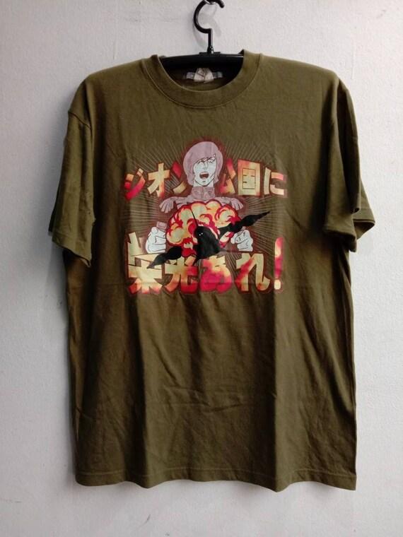 1990's Gundam Vintage Original Cartoon Tshirt