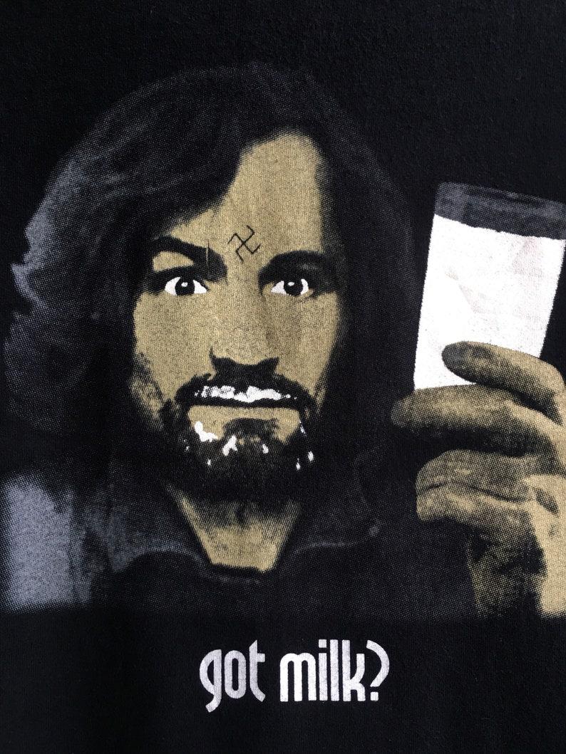 1990/'s Charley Manson Vintage Original Tshirt