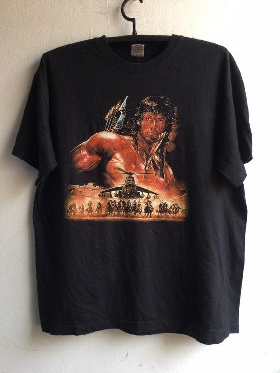 1990's Rambo Vintage Original Movie Tshirt