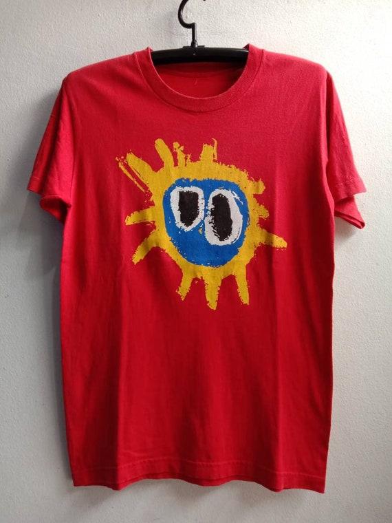 2000s Primal Scream Vintage Original Band Tshirt
