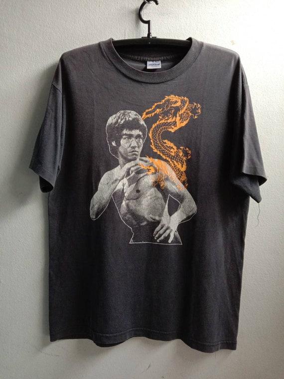 1990s Bruce Lee Vintage Movie Tshirt