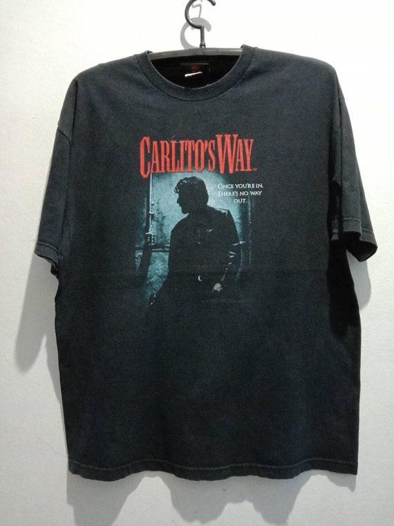 1990s Carlitos Way Vintage Movie Tshirt