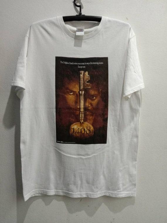 2007 1408 Vintage Original Horror Movie Tshirt