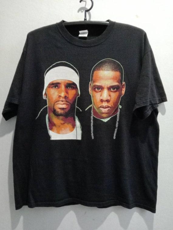 2000s Jay-Z & R.Kelly Vintage Rap Music Tshirt