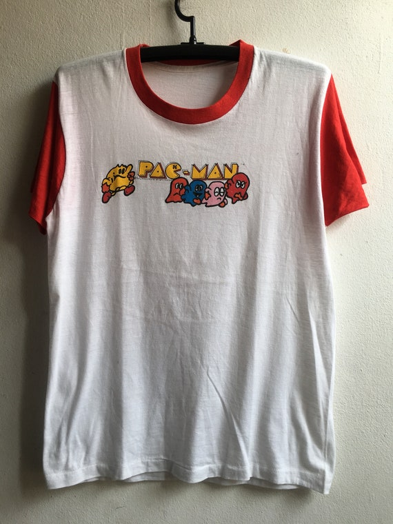 1980s Pac-Man Vintage Original Game Tshirt