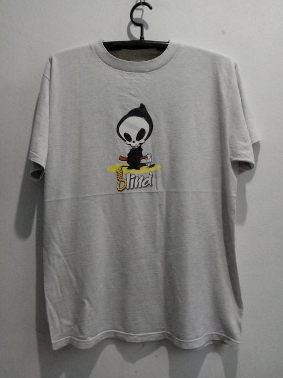 1990s Blind Vintage Skateboard Tshirt