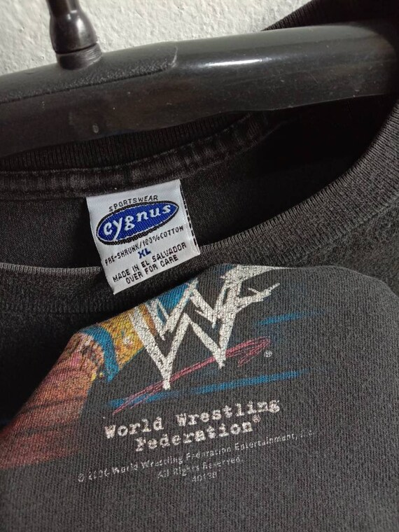 1990s The Rock WWF Vintage Original Tshirt - image 4