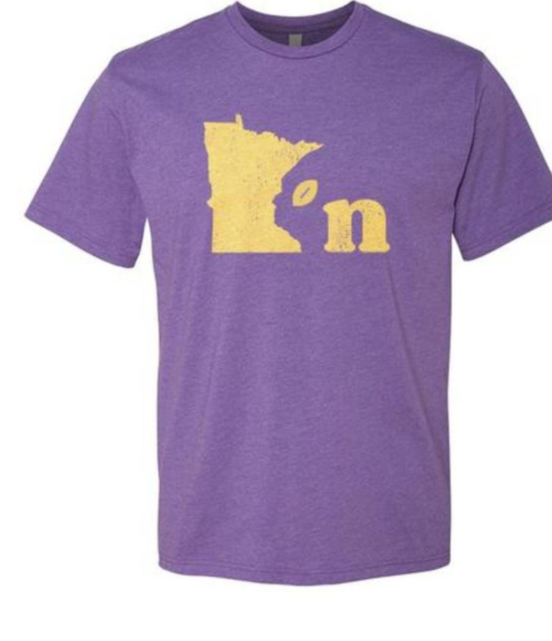 on sale af229 0364b Vikings shirt, Vikings, Football, Minnesota Vikings, Vikings clothing,  Vikings football, Minnesota decor, Mimnesota clothing, Purple pride